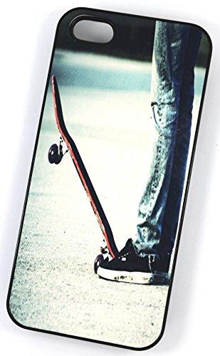 Skateboard Stance (Housse/Etui rigide en plastique pour iPhone 4/4S Noir