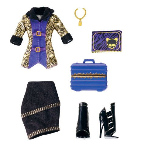Mattel W2552 - Monster High Clawdeen Wolf Fashion Outfit