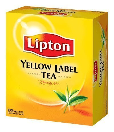 Lipton Yellow Label Tea (Pack of 12 x 100 tea Bags)