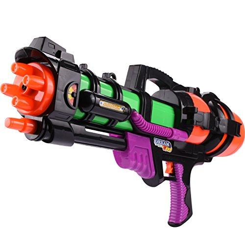 Preisvergleich Produktbild VVDYC-Kinder wasser Spielzeug Teleskop lange Reihe großer Druck Wasserpistole Wasser Kriege treiben Strand Spielzeug shot Gun, Länge: 44 cm, 600 ml