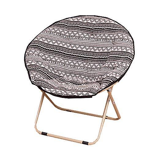 Chaise Pliante Chaise De Lune Chaise Paresseuse Chaise Longue Soleil Radar Chaise Inclinable Chaise Inclinable Chaise Chaise De Loisirs Simple BohèMe 50 * 50 * 79cm
