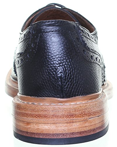 Reece Justin Dylan renforcées en cuir GoodYear mat pour chaussures Noir - Black S1Q