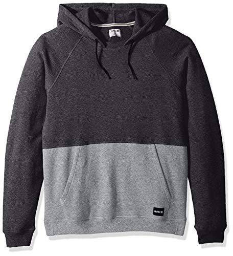 Hurley Herren Pullover M Crone Blocked M Schwarz (Heather)