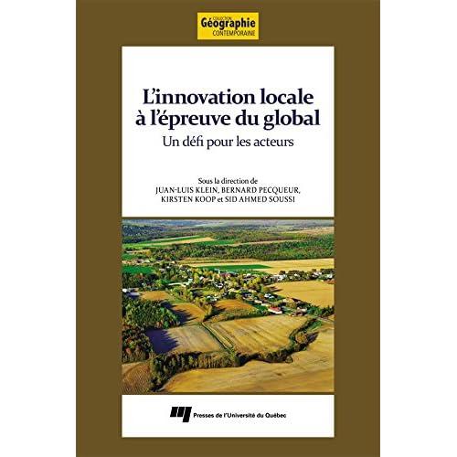 L'innovation locale à l'épreuve du global: Un défi pour les acteurs