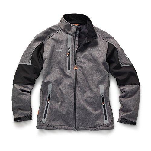Scruffs t54182Größe M Pro Softshell Jacke–Anthrazit