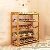 Shoe cabinet/Shoe rack Europäische Moderne Einfache, mehrstöckige Schuhmontage Schuhgestell (Länge 80cm * Breite 25cm * Höhe 87cm)