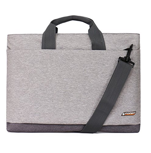 YAAGLE Laptoptasche, Tasche Hülle Aktentasche für 15 Zoll Laptop / Notebook Computer / MacBook / MacBook Pro pink grau/17 Zoll
