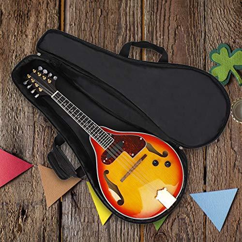 Wintesty Zubehör für Musikinstrumente, aus Baumwolle, dick, für Mandoline, doppelte Verwendung, tragbar
