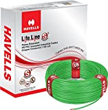 Havells Lifeline Cable 1 sq mm wire (Gre...