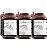 Triple Strength PQQ (Pyrroloquinoline Quinone) - Massive 30mg x 360 veggie caps - 300% stronger than most of our competitors.