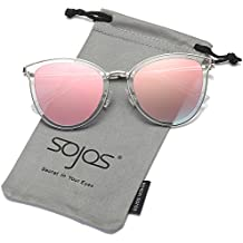 SojoS Gafas De Sol Mujer Ojo De Gato Oversized SJ1052