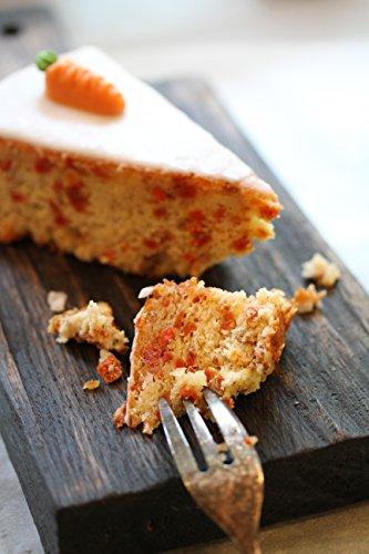 Backmischung im Glas für Aargauer Rüebli-Torte – Raffinierte Geschenkidee für Backfreunde – Backzutaten im Weckglas für die einfache Zubereitung – Gourmet