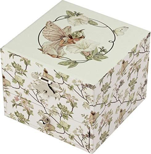 Trousselier Boite à Musique Cube Flower Fairies© - Narcisse
