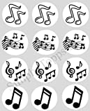 12 Music Notes rice paper fairy / cup cake 40mm toppers pre cut decoration Made By Simply Topps Ltd Matching Cupcake Wraps In My Shop
