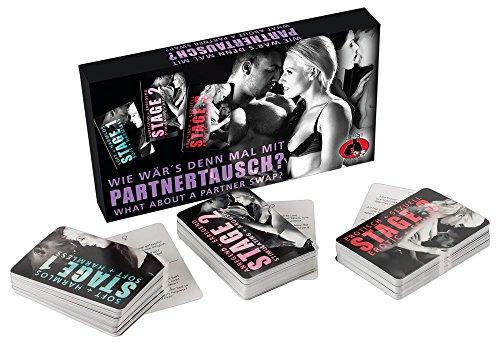 Erotik Spiel - Sexspiel für Paare/Erotisches Sexspiel - Erotisches Pärchenspiel für Paare Ab 18 Jahren. Mindestens 4 Spieler - Swinger