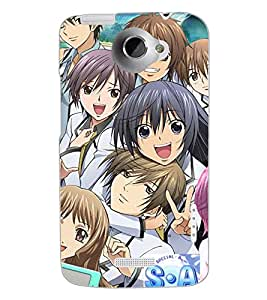 HTC ONE X FRIENDS Back Cover by PRINTSWAG