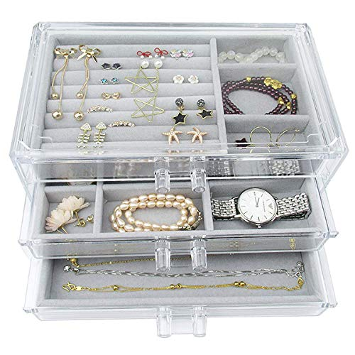 Jewelry Box - 3 Layer - Buckle S...