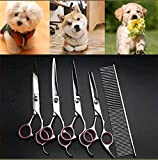 Best Dog Grooming Tijeras - Generic Rved SH Kits Curved Ooming Kits Dog Review