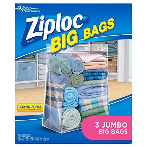 Ziploc Jumbo Big Bags 3 Stück