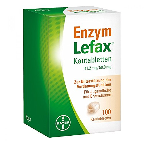 Enzym Lefax Kautabletten 100 stk