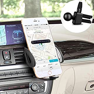 Anbero Handyhalterung Auto, Autohalterung Handyhalter Auto Kfz Handyhalterung Auto Lüftung für iPhone, Samsung, Huawei, Navi, Smartphone (Grau)