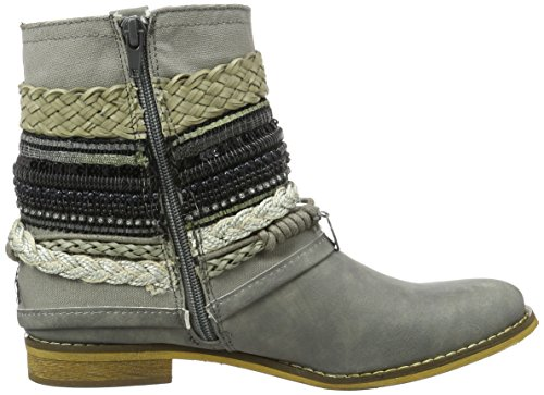 Bullboxer Ankle Boots, Bottes Motardes femme Grau (ice)