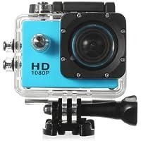 SJ4000Full HD 1080p Mini Sport cámara Action DV con impermeable carcasa 30m Extreme, color azul