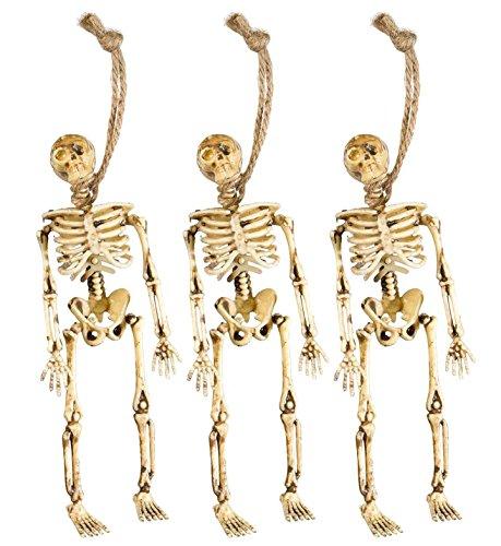 WIDMANN S.R.L., 3 Skeletons (Kostüm Sache Halloween 3)