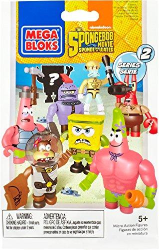 Mega Blocks - 325005 - 94600 Bob Esponja Micro Acción Serie Figuras 1
