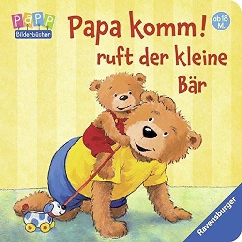 Papa komm! ruft der kleine Bär