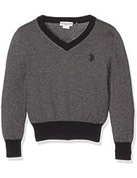 U.S.POLO ASSN. Costantino V-Nk Knit, Camiseta Térmica para Niñas