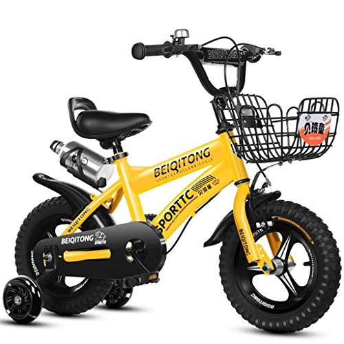 Bicicletas Eléctricas Niños Niñas De 2 A 8 Años Bebé De 12/14/16 Pulgadas Deportiva para Niños Ciclismo Al Aire Libre Montaña para Niños