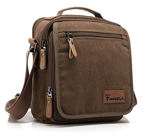 fanselatm-retro-vintage-multi-pocket-small-cavnas-shoulder-bag-cross-body-pack-coffee