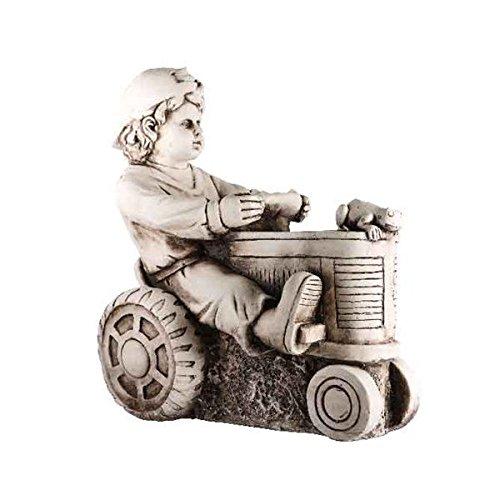 bimbo-sur-tracteur-51-x-25-x-53-cm-statue-decoration-jardin