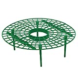 Kegiit 5Pcs Strawberry Supports Fruit Plant Growing Round Rack Far from Soil
