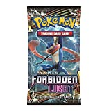 Best Pokemon Cards - Pokémon Forbidden Light Booster Pack x4 Trading Card Review