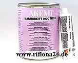 AKEMI Marmorkitt 1000 Thixo, paglierino-dunkel, 1000 ml