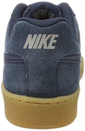 Nike Court Royale, Scarpe da Ginnastica Uomo Blu (Armory Navy/Armory Navy/Cobblestone/Gum Lt Brown)