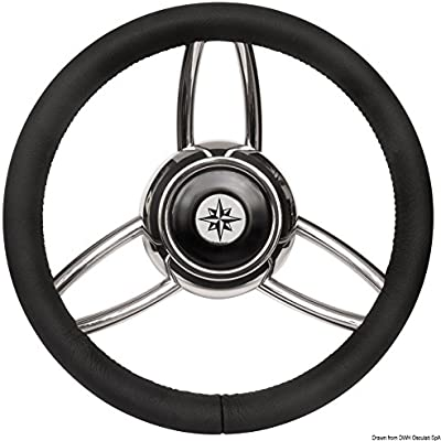 Volante Bliz poliuretano morbido nero English: Blitz steering wheel w/soft polyurethan ring black
