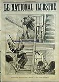 NATIONAL ILLUSTRE (LE) [No 15] du 14/04/1895 - arrestation mouvementee a baume - julien poncin article de claude mermet dessin , la jambe cassee par rabier une bonne histoire par rabier