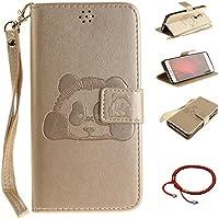 GOCDLJ Schutzhülle für Xiaomi Redmi Note 4 Design Panda PU Leder Flip Cover Tasche Ledertasche Handytasche Hülle... preisvergleich bei billige-tabletten.eu