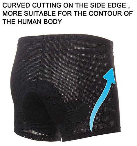 4ucycling 3D gepolstert Radsportbekleidung hautfreundliche Shorts - 6