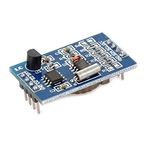 3-in-1 DS1307 Real Time Clock, AT24C128 EEPROM and DS18B20 Digital Temperature Sensor Module for Weather Monitoring Devices from Optimus Electric Pack of 2