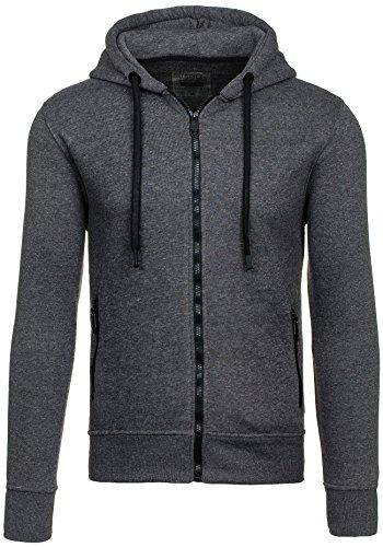 Sweatshirt Herren Kapuzenpullover Hoodie Motiv Design MIX BOLF 1A1 Sweatjacke Heren: kleding