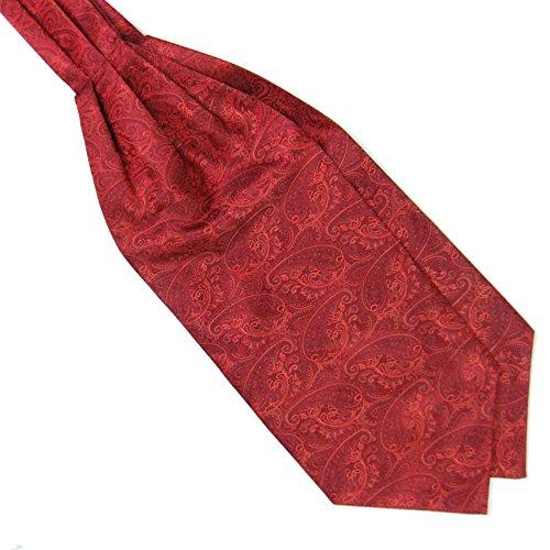 Ascot-schal (Brightup Männer Krawatte Satin Schal Selbstbindungs Hochzeits Schal Gentlemen)