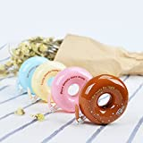 TXY Cinta de Corrección Mini Cinta de Rodillo de Corrección de Apperence Cute Donut 5mm x 8 Metros para Niños Pack de 4