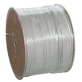 500 Meter Trommel Installationskabel NYM-J 3x1,5 mm² - Kunststoff Installationsleitung - 500m TROMMEL -PVC - grau