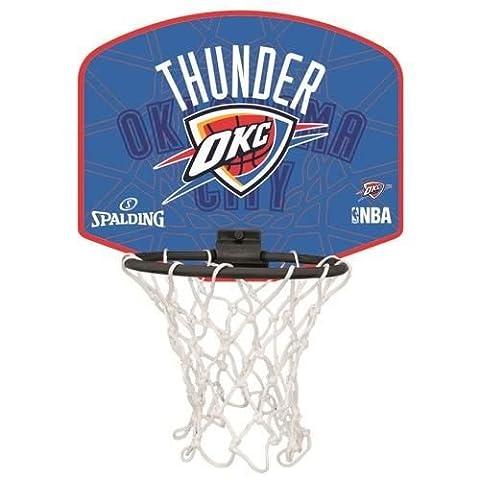 SPALDING Mini Panier de Basket-Ball NBA Oklahoma City