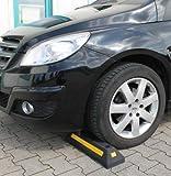 SBS Radstopper 55 x 15 x 10 cm/Parkplatzbegrenzung / Einparkhilfe/Reflektoren