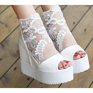Stivali da donna Comfort Uomo Primavera Giallo Comfort Argento Bianco Nero Pianta Black
